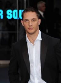 Tom Hardy at the world premiere of