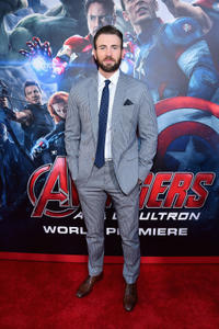 Chris Evans at the California world premiere of