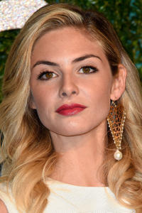 Tamsin Egerton at the British Fashion Awards.