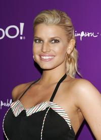 Jessica Simpson at the album release party of her new album