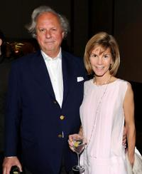 Graydon Carter and Anna Scott Carter at the Natural Resources Defense Council's 12th Annual