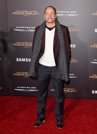 Woody Harrelson at the Los Angeles premiere of