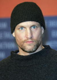 Woody Harrelson at the press conference for