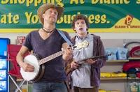 Woody Harrelson and Jesse Eisenberg in