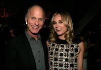 Ed Harris and Diane Kruger at the cocktail party of