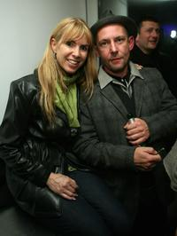 Producer Julia Verden and Ian Hart at the TANK Magazine party.