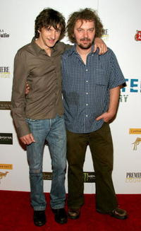 John Hawkes and director/writer Goran Dukic at the party for
