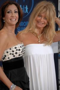 Goldie Hawn and Maria Bravo at the Playing for Good Gala on September 01, 2007 at Pueblo Espanol in Mallorca, Spain.