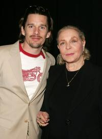 Ethan Hawke and Lauren Bacall at the 5th annual