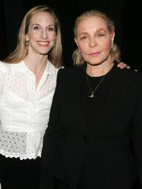 Ballerina Wendy Whelan and Lauren Bacall at the 5th annual