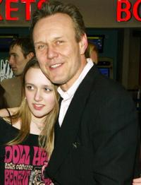 Anthony Head and Guest at the UK premiere of