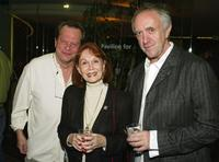 Terry Gilliam, Katherine Helmond and Jonathan Pryce at the screening of