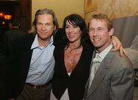 Jeff Bridges, Nadia Comaneci and Bart Conners at the Screening of Touchstone's