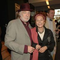 Howard Hesseman and Caroline Ducrocq at the AMPAS John Huston Spotlights WWII Documentaries.