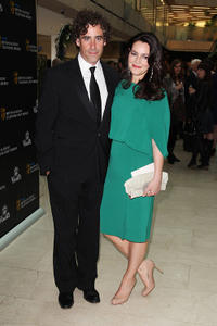 Stephen Mangan and Louise Delamere at the Phillips British Academy Awards 2011 in London.