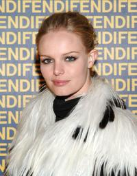 Kate Bosworth at the FENDI Great Wall of China Fashion Show.