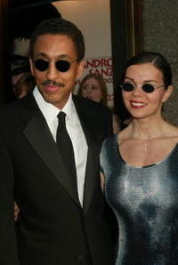 Gregory Hines and wife Legrita at the 56th Annual Tony Awards.
