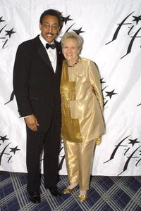 Gregory Hines and Annette Green at the Fifi Awards.