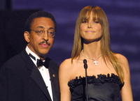 Gregory Hines and Heidi Klum at the Awards Ceremony of the Laureus World Sports Awards Gala.