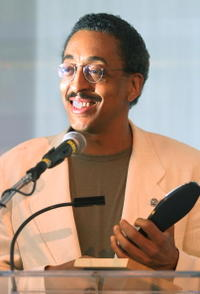Gregory Hines at the New York City Tap Festival.