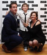 Matthew MacFadyen, Sidney Johnston and Sharon Maguire at the BFI 52'nd London Film Festival European premiere of