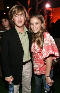 Haley Joel Osment and his sister Emily Osment at the after party of the premiere of