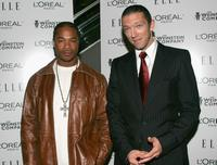 Xzibit and Vincent Cassel at the premiere of