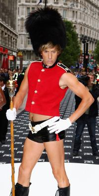 Sacha Baron Cohen at the London premiere of