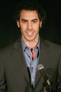 Sacha Baron Cohen at the 32nd Annual LA Film Critic's Association Awards.