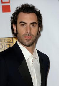 Sacha Baron Cohen at the 12th Annual Critics' Choice Awards.