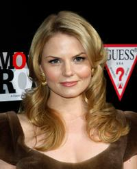 Jennifer Morrison at the Guess and Conde Nast Movies Rock kick off party.