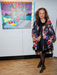 Diane Von Furstenberg at the 2013 Tribeca Ball in New York.