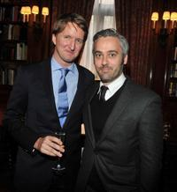 Tom Hooper and producer Iain Canning at the luncheon to honor