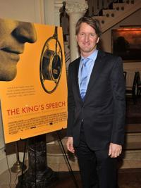 Tom Hooper at the luncheon to honor