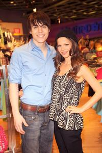 Nolan Gerard Funk and Tammin Sursok at the promotion of