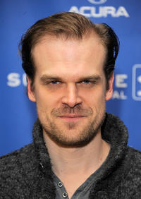David Harbour at the premiere of