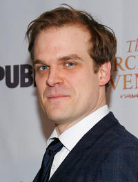 David Harbour at the after party of the opening night of