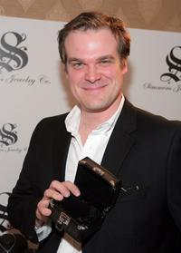 David Harbour at the HBO Luxury Lounge in honor of the 66th Annual Golden Globes.