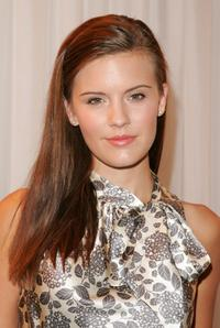 Maggie Grace at the Tommy Hilfiger Collection 2008 Fashion Show.