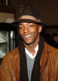 Anthony Mackie at the opening of