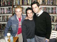 Tom Lenk, Danny Strong and Adam Busch at the autograph party for the television series