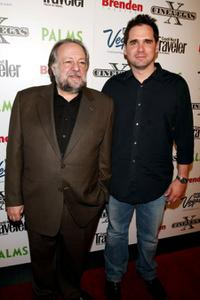 Ricky Jay and Director Sean McGinly at the screening of
