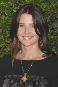 Cobie Smulders at the CBS celebration of Monday night season premieres.