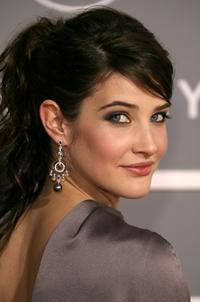 Cobie Smulders at the 49th Annual Grammy Awards.