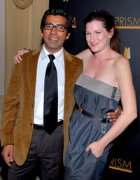 Ravi Kapoor and Kathryn Hahn at the 11th Annual Prism Awards.