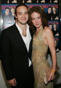 Charlie Cox and Lynn Collins at the New York premiere of