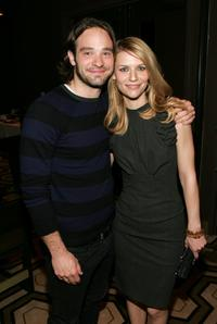 Charlie Cox and Claire Danes at the screening of