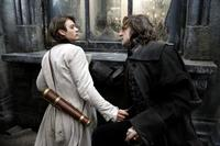 Tristan (Charlie Cox) is threatened by the determined Septimus (Mark Strong) in