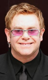 Elton John at the opening of Sir Elton John and Amnesty International's Human Rights Action Centre.