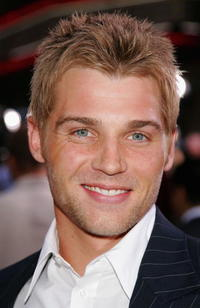 Mike Vogel at the L.A. premiere of